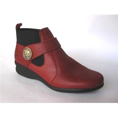 CHAUSSURE CUIR MAEL ROUGE