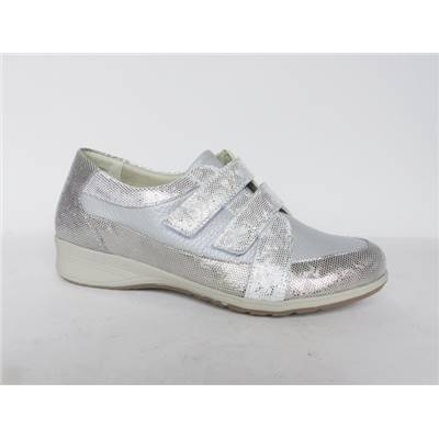 CHAUSSURE CONFORT LONDON 7525 POWDER/SILVER