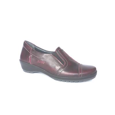CHAUSSURE CONFORT CUIR MOSCOW 7113 BORDEAUX